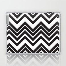 Black Chevron Laptop & iPad Skin
