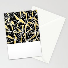Ab Fan Zoom Gold Stationery Cards