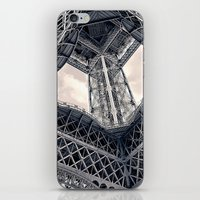 Eiffel Steel iPhone & iPod Skin