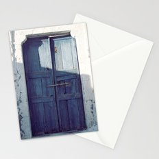 Santorini Door I Stationery Cards