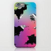 Cosmic Matter and the Neon Spectrum iPhone 6 Slim Case