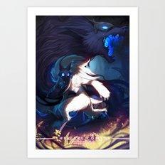 League of Legends - Kindred Art Print