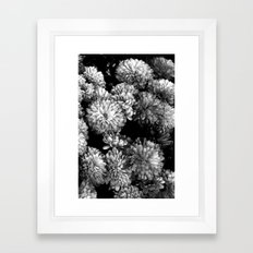 white gold (w/straight border) Framed Art Print