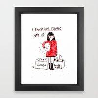 That's My Stuff Framed Art Print
