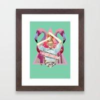 You Got That Vibe. Framed Art Print