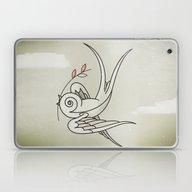Peace Sparrow Laptop & iPad Skin