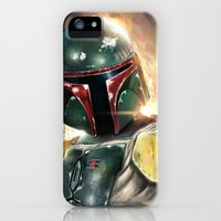 iPhone Cases featuring Boba Fett by Mishel Robinadeh