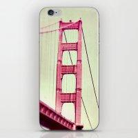 The Tip Of The Bridge iPhone & iPod Skin