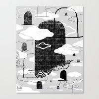 Wandering Hats Canvas Print