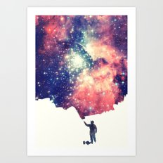 Painting The Universe Art Print
