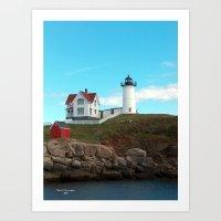 Main Lighthouse Art Print