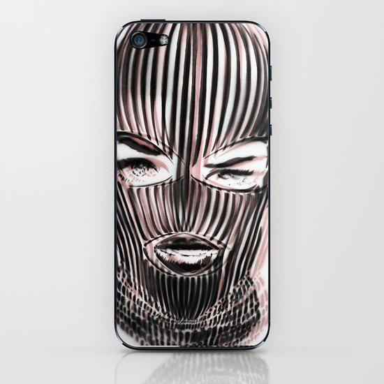 Badwood 3D Ski Mask iPhone & iPod Skin