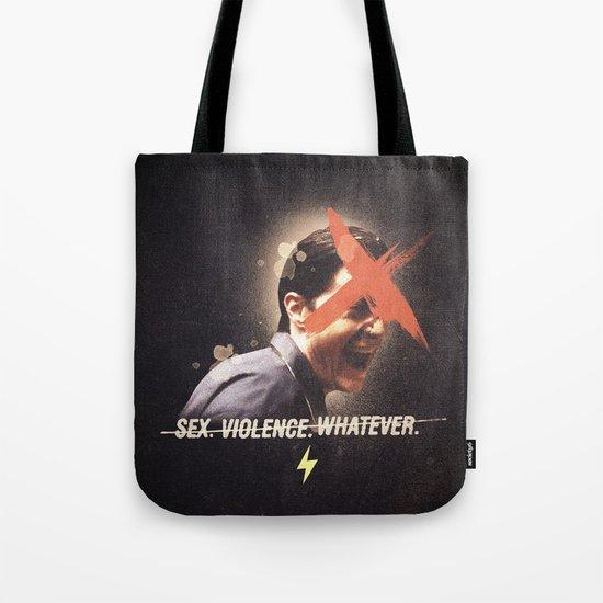 Black Mirror | Dale Cooper Collage Tote Bag