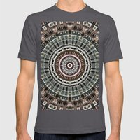 Fan of Geometry Mens Fitted Tee Asphalt SMALL