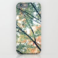 iPhone & iPod Case featuring Paint Me Autumn by Young Swan Designs