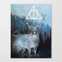 My Patronus is a Stag Canvas Print