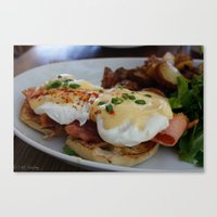 Eggs Benedict Canvas Print
