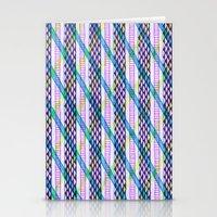 Isometric Harlequin #2 Stationery Cards