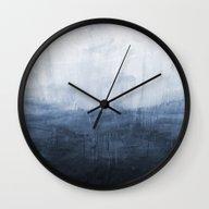 The Storm - Ocean Painti… Wall Clock