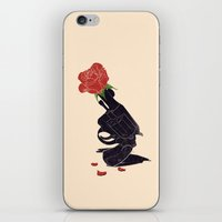 Make Love Not War iPhone & iPod Skin
