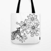 Hummingbird - Picaflor -… Tote Bag