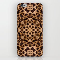 Leopard Fur Abstract Kaleidoscope Print iPhone & iPod Skin