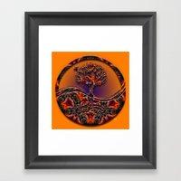 Tree Of Designs Framed Art Print
