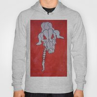 Skelleton Head Deer Hoody