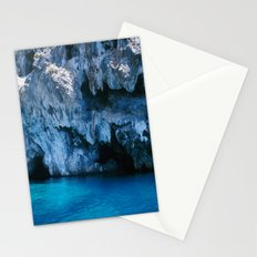 NATURE'S WONDER #3 - BLUE GROTTO #art #society6 Stationery Cards