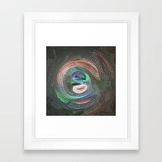 Abstract Mandala 126 Framed Art Print