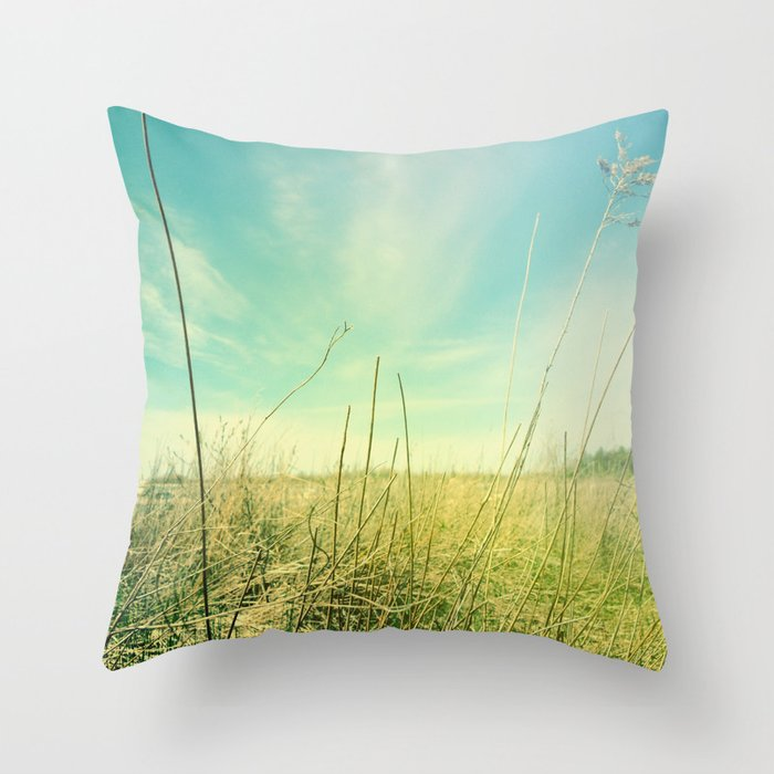 Out to Pasture Throw Pillow by Olivia Joy StClaire Society6
