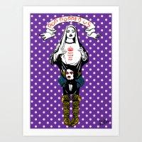 POP A VIRGIN! Art Print
