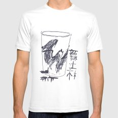 Jazz Cup Mens Fitted Tee White SMALL