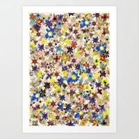 Flower Filed Art Print