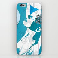 hot woman iPhone & iPod Skin