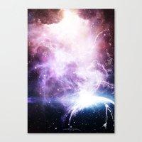 Space Cloudz Canvas Print
