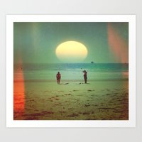 Sunset Sessions Art Print