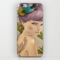 Paradise Bird iPhone & iPod Skin