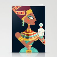 Queen Nefertiti Stationery Cards
