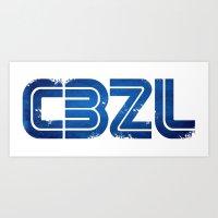 CBZL//Arcade Logo Art Print
