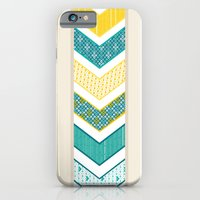 Sunshine Chevron iPhone 6 Slim Case
