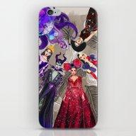 Wicked Queens. iPhone & iPod Skin