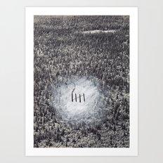 five Art Print