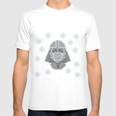 Merry Darth Vaderness   Mens Fitted Tee White SMALL