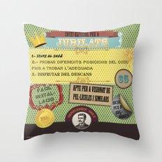 Coixí especial per a jubilats Throw Pillow