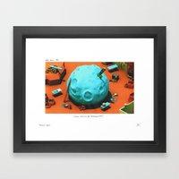 POP HELL #3 Framed Art Print