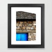 Variations Of Blue 2 Framed Art Print