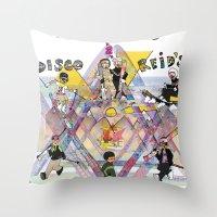 Disco & Reid's 2013 Annu… Throw Pillow