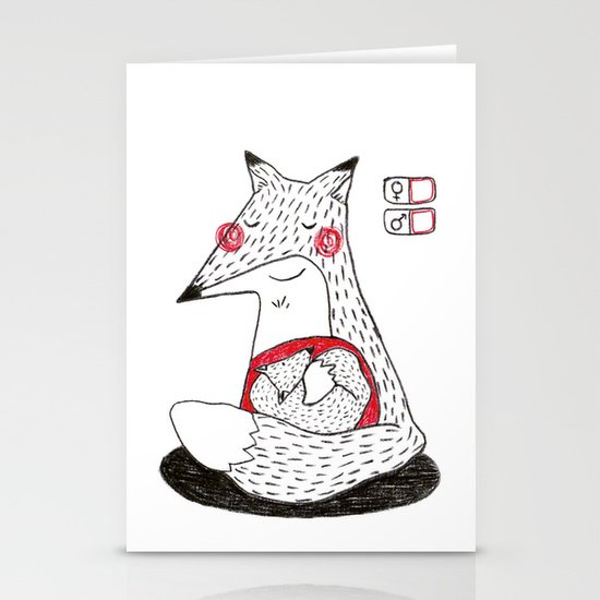 Baby. Stationery Card