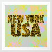 New York Steampunk Art Print